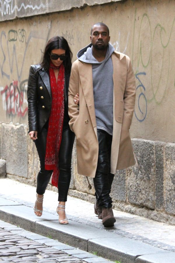 Kim Kardashian West and Kanye West honeymoon Prague30/05/2014Photo by Renato MarziniPictured: Kim Kardashian, kanye westRef: SPL1216304 270116 Picture by: Renato Marzini/Splash NewsSplash News and Pictures