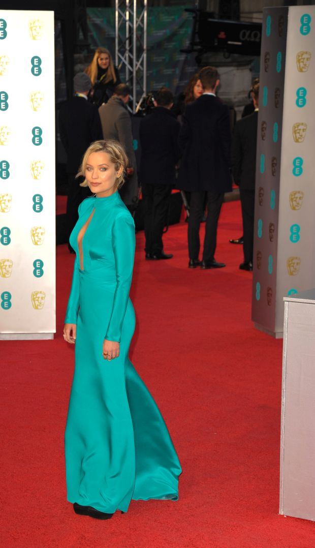 Arrivals on the Red carpet, at the BAFTAS 2016 at the Royal Opera House Covent Garden LondonPictured: Laura WhitmoreRef: SPL1227387 150216 Picture by: Terry Scott / Splash NewsSplash News and PicturesLos Ang