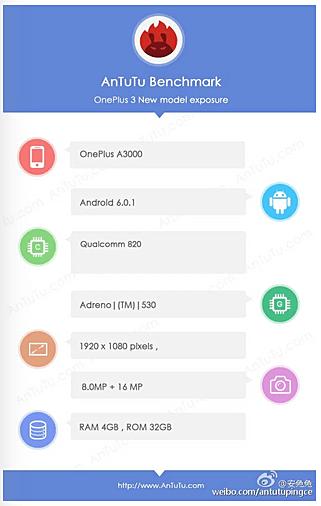 OnePlus 3: Αυτά είναι τα χαρακτηριστικά του!