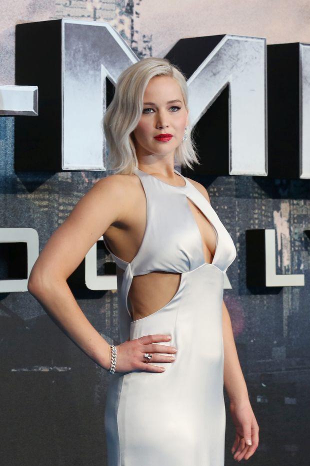 Jennifer Lawrence at  X-Men: Apocalypse - UK fan screening