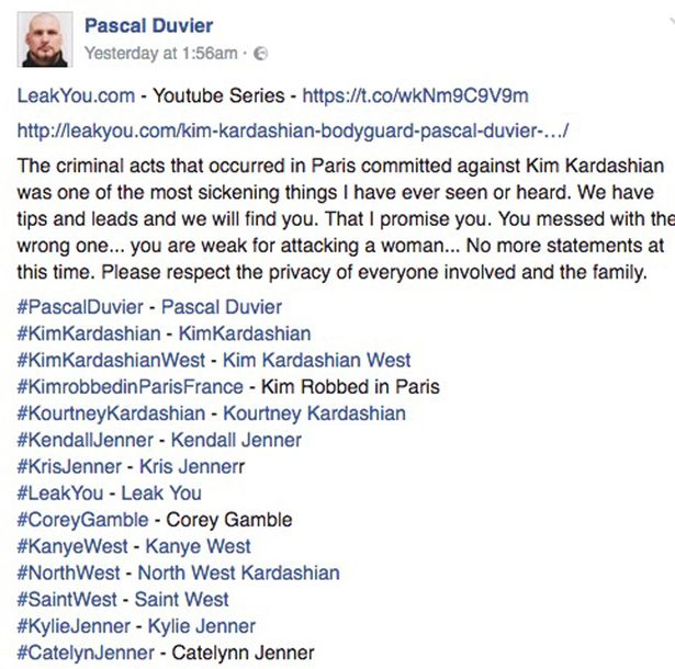 Pascal-Duvier status