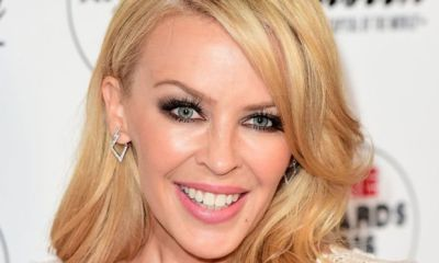 Kylie Minogue με το photoshop σε εξώφυλλο της