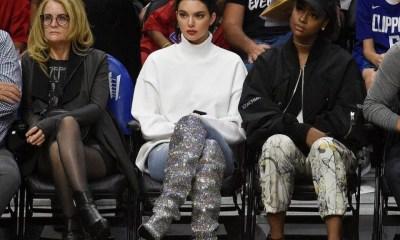κοστίζουν αυτές οι μπότες που φόρεσε η Kendall Jenner σε αγώνα μπάσκετ!