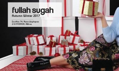 Fullah Sugah: Χειμερινό Fashion Bazaar