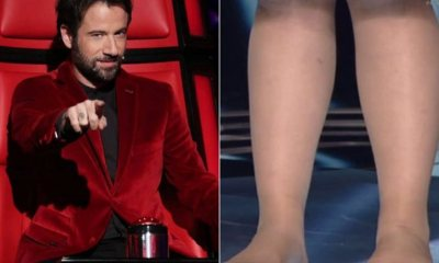 Κωστής Μαραβέγιας έβγαλε τα παπούτσια από 16χρονη παίκτρια στο The Voice