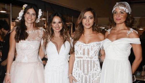 διάσημες Ελληνίδες ντυμένες νυφούλες