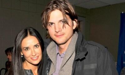Ashton Kutcher και ηDemi Moore