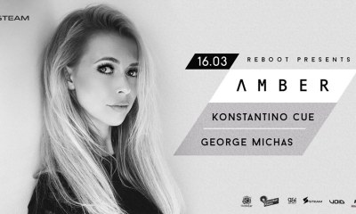 Amber 16/3 και The Best club sessions 17/3