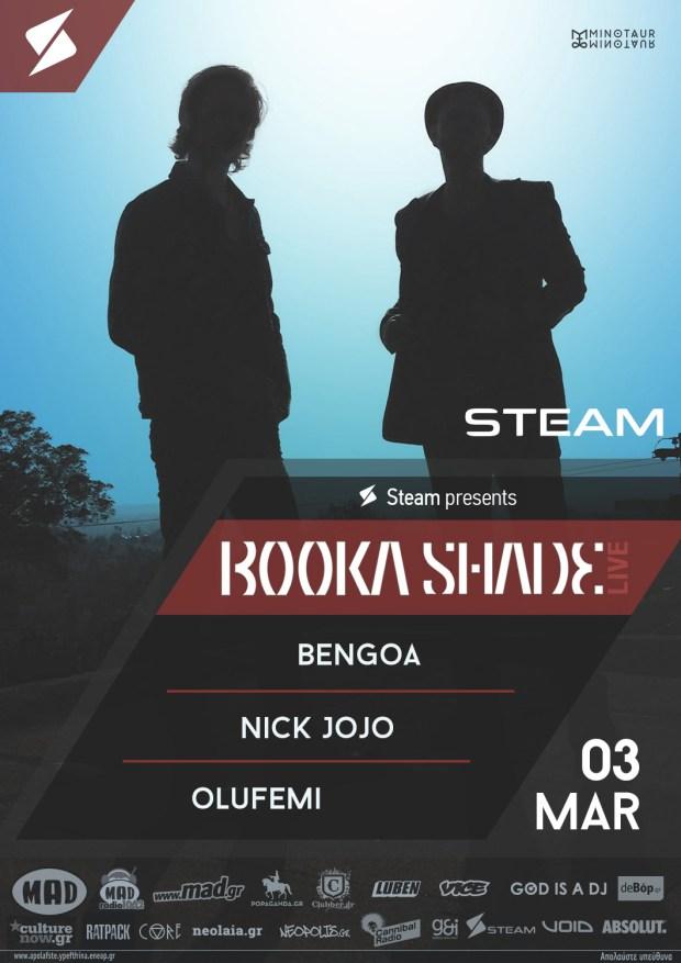 Booka Shade στο Steam Athens