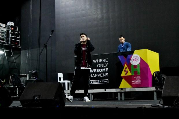 backstage φωτογραφίες από το WOAH Fest
