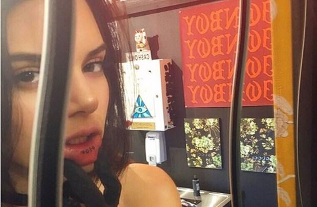Kendall Jenner τατουάζ