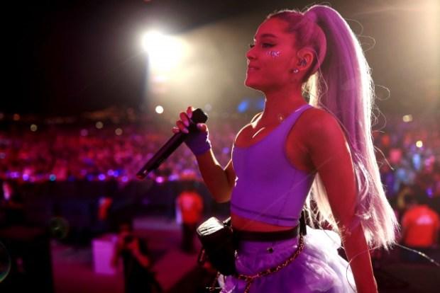 Ariana Grande πήγε στοCoachella