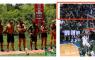 Ένας Μαχητής πήγε στον αγώνα NBA μαζί με τους Διάσημους