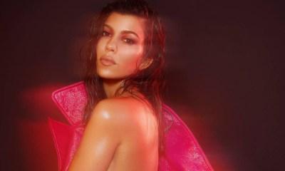 Kourtney Kardashian γυμνή φωτογράφιση