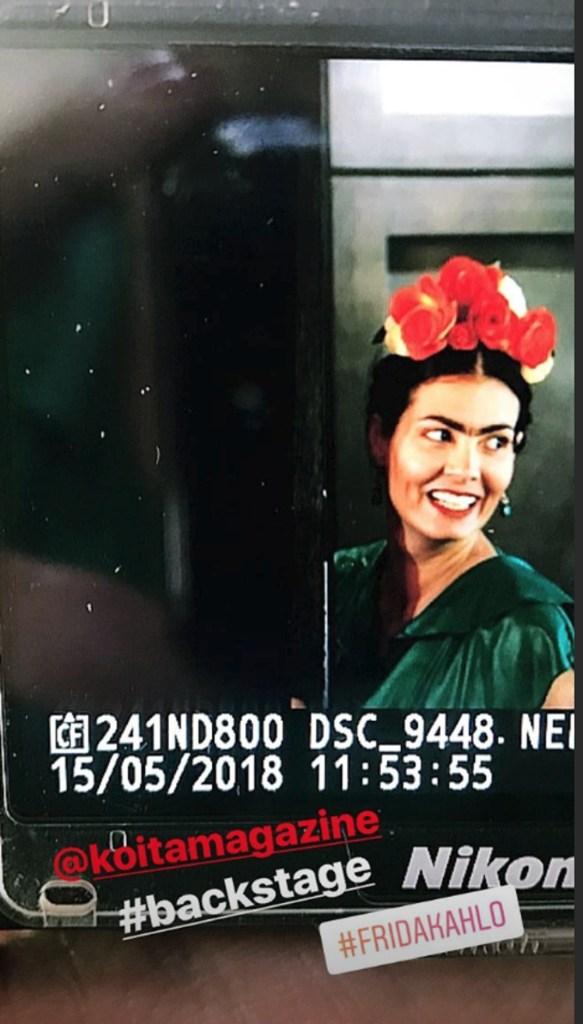 Μαρία Κορινθίου έγινε Φρίντα Κάλο και είναι ίδια