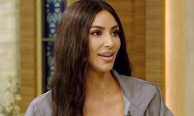Kim Kardashian έβγαλε τις πρώτες της άσπρες τρίχες