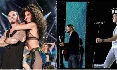 όλοι οι ξένοι καλλιτέχνες που έχουμε δει στα Mad Video Music Awards