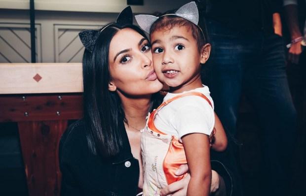 κόρη της Kim Kardashian έκανε την πρώτη της επαγγελματική φωτογράφιση