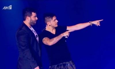 Παντελή Παντελίδη με τον STAN και την Ελένη Φουρέιρα το 2013 συγκίνησε το κοινό των MAD VMA