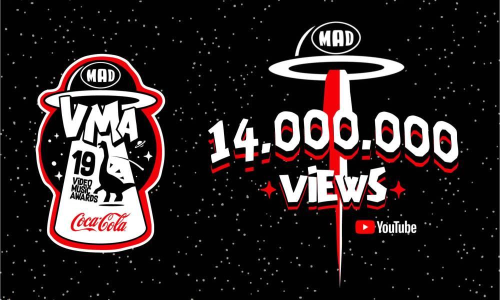 Mad Video Music Awards βρίσκονται στις κορυφαίες τάσεις Youtube ξεπερνώντας 14 εκατομμύρια