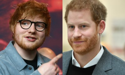 Ed Sheeran Prince Harry για την παγκόσμια ημέρα ψυχικής υγείας