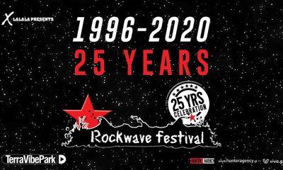 1996 -2020: 25 χρόνια Rockwave Festival - Με τους Deep Purple και Opeth στις 6 Ιουνίου