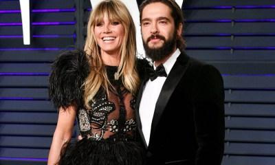 Heidi Klum και ο Tom Kaulitz «λανσάρουν» νέο είδος φιλιού