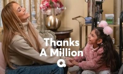 """Η Jennifer Lopez δωρίζει 1 εκατομμύριο δολάρια σε άτομα που το έχουν ανάγκη, μέσα από το show """"Thanks A Million""""!"""