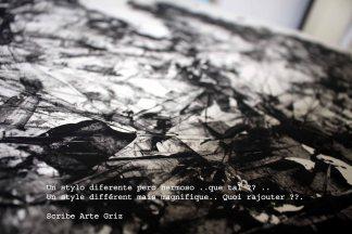 scribe arte griz