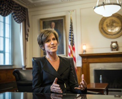 Trump Administration Sought to Block Sally Yates from Testifying to Congress on Russia
