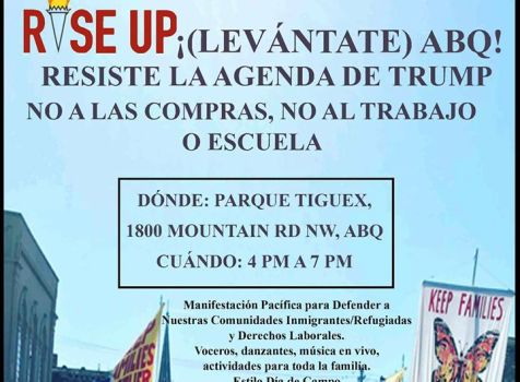 This evening I will be at Rise Up ABQ to support …