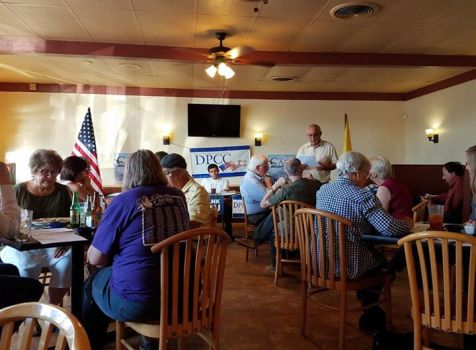 I spent the evening at the Democratic Party of …