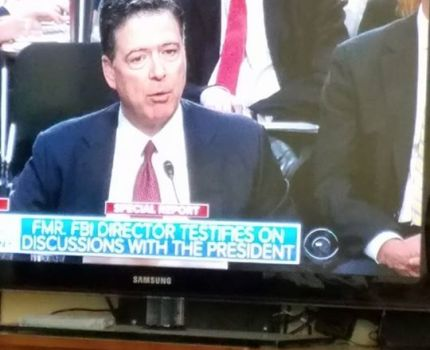 I am watching Comey testify. This is important to …