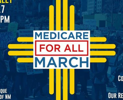 Today I will be in ABQ at this rally. I hope to …
