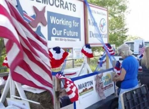 Socorro County Fair Parade. Democrat Awesome