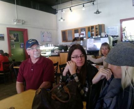 I enjoyed talking with people from Catron and …
