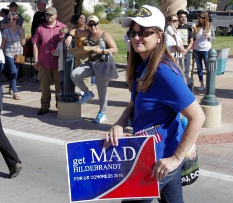 Parade with Mad Hildebrandt