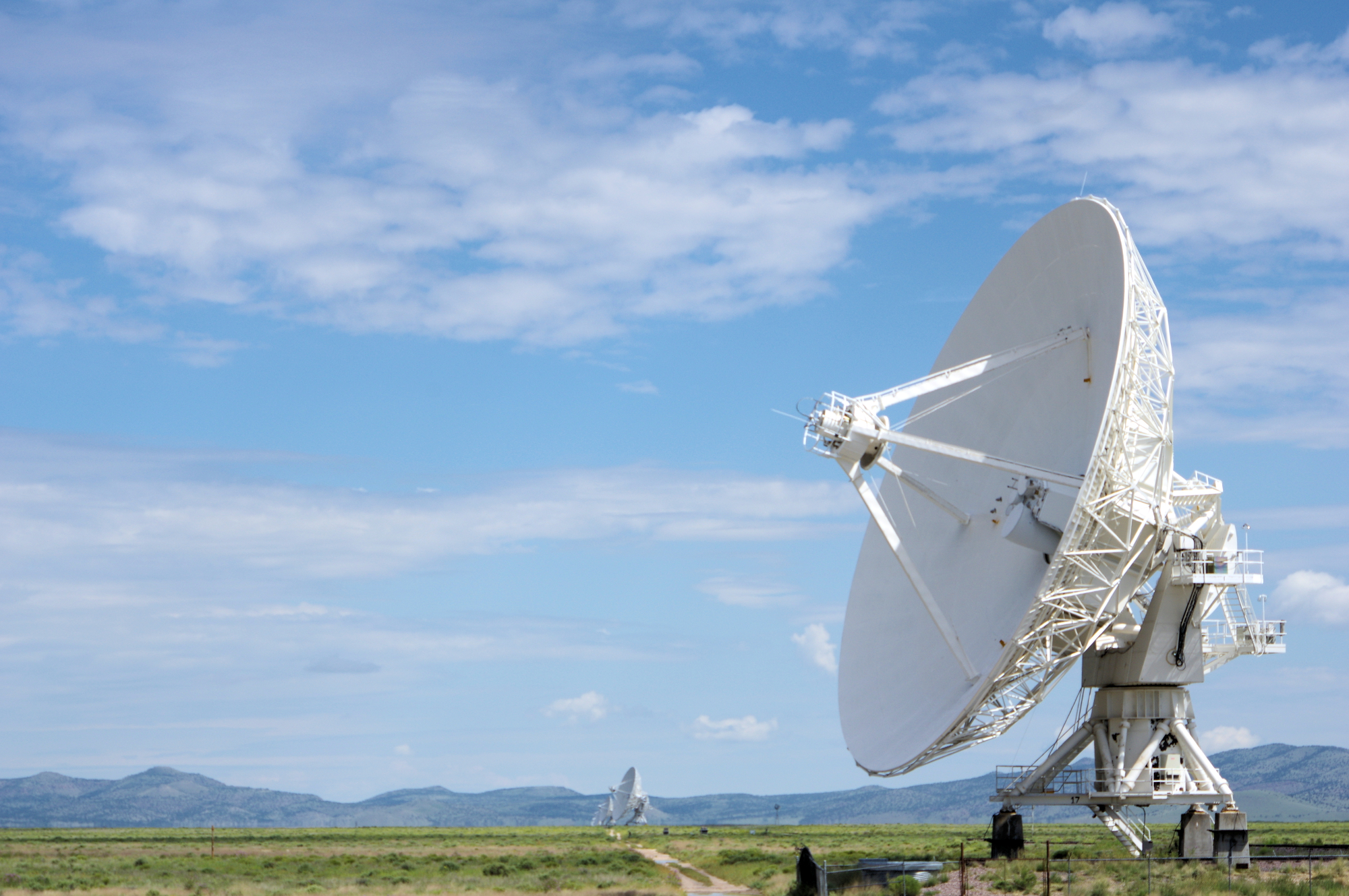 The Very Large Array, located on the San Augustin Plains in northern Socorro County, is comprised of 27 giant radio telescopes which attracts astronomers from around the globe, and brings in science-based tourism to the economy