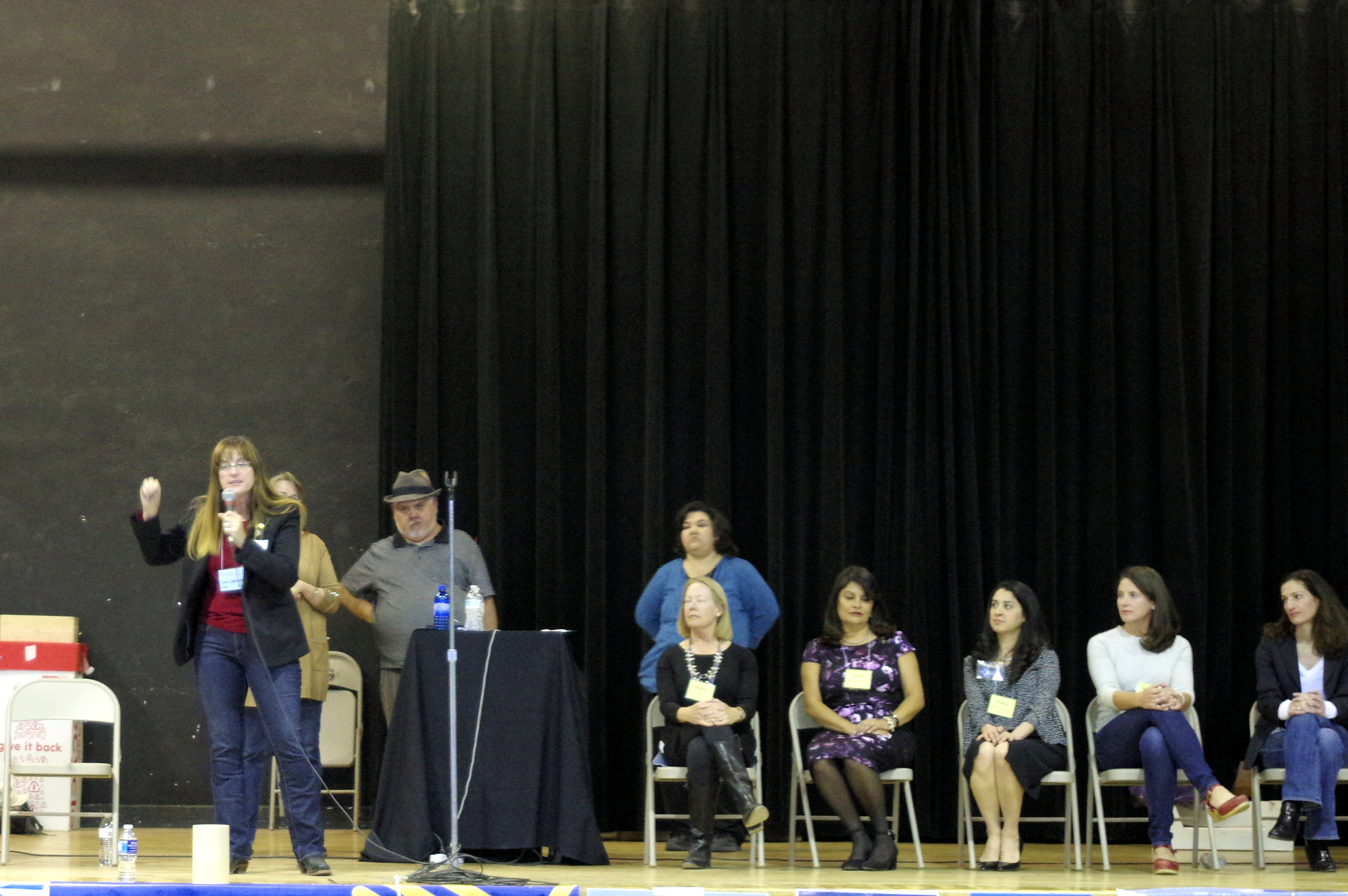 Mad Hildebrandt speaking at Socorro County