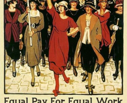 The Woman's Trade Union League, 1903, was formed …