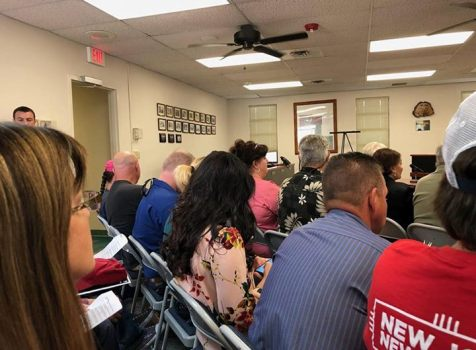 I attended the Otero County Commissioners meeting …