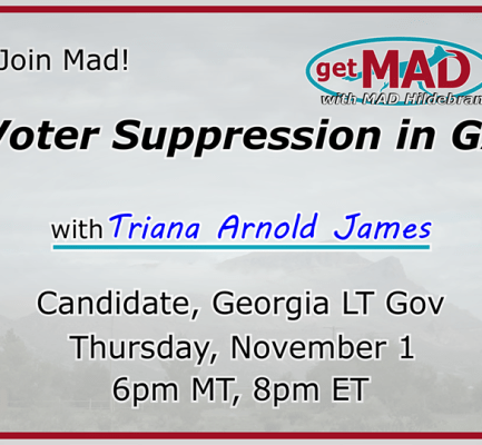 Voter Suppression is rampant in Georgia