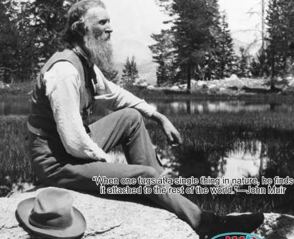 John Muir was a great preservationist who …