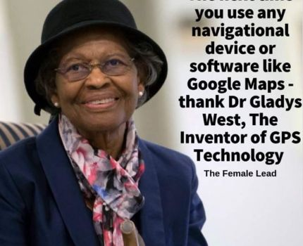 "She didn't ""invent"" it, but her work was …"