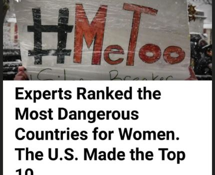 The US is rated one of the 10 most dangerous …