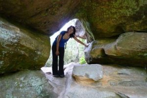 Explorando el Parque Nacional de Red River Gorge en Kentucky