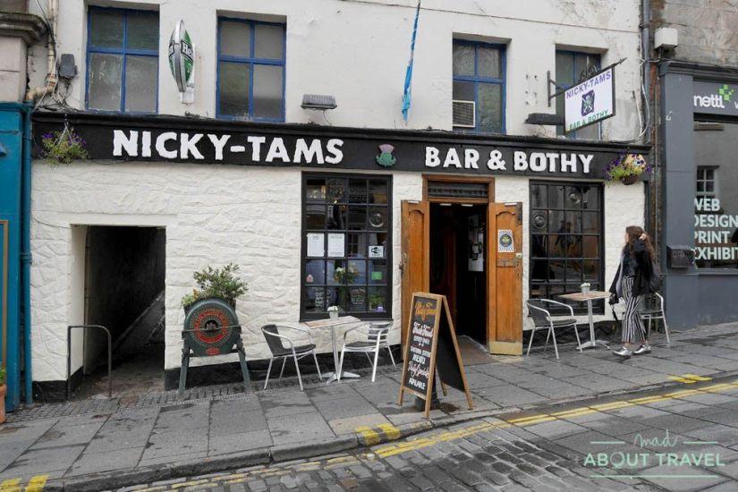 donde comer en stirling: nicky tams bar & bothy
