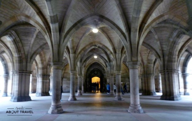 Claustros de la Universidad de Glasgow