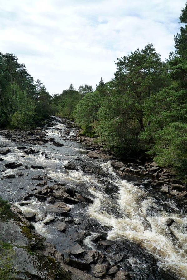Falls of Dochart, en Killin