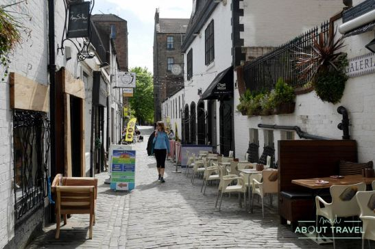 que ver en glasgow: ashton lane